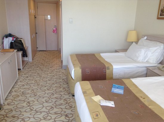 Barut Kemer : the double beds - we pushed them together!