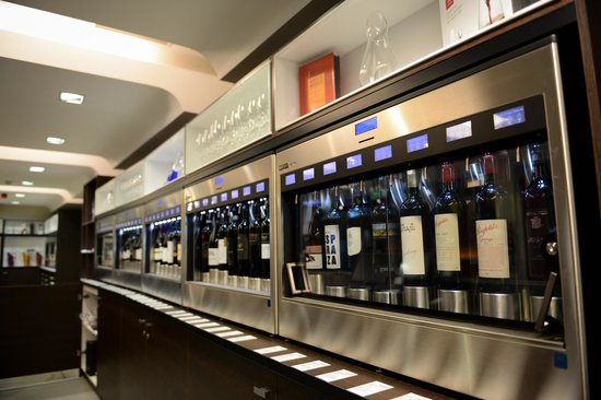 National Wine Centre of Australia: NWC 'Wined' Bar Enomatics
