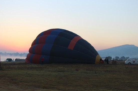 Hartbeespoort Dam: Hot air balloon