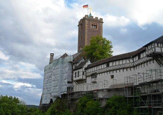 Wartburg Castle: von aussen