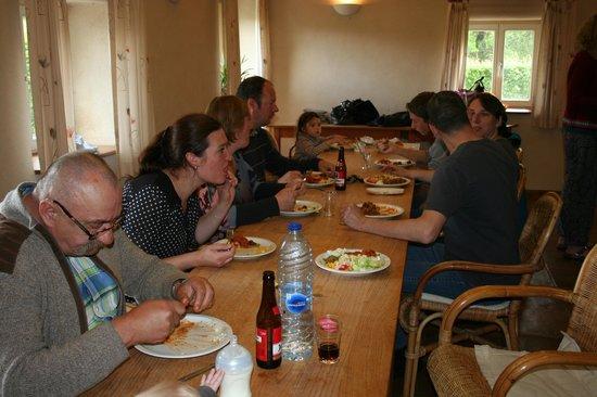 De Pensool: grote eetzaal is ook gezellig