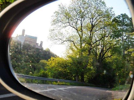 Wartburg Castle : wartburg in the mirrir