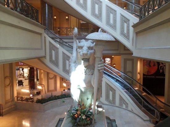 Forum Shops at Caesars Palace: les escalators