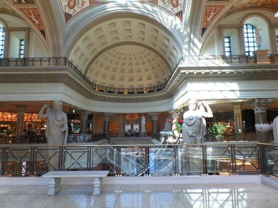 Forum Shops at Caesars Palace: sa c'est de la décoration