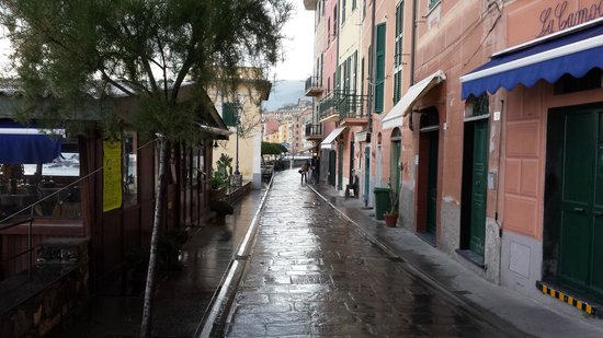 Hotel La Camogliese: Walk from hotel to Seafront