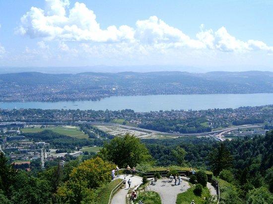 Uetliberg Mountain : View from Uetliberg viewing platform