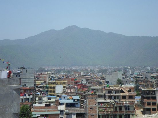 Hotel Encounter Nepal : kathmandu view