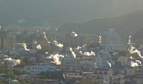 鉄輪温泉方面を望む - Bild von Yukemuri Observatory, Beppu - TripAdvisor