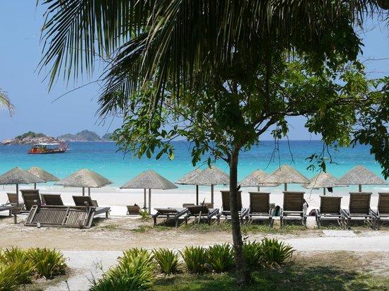 Laguna Redang Island Resort : front view of the hotel