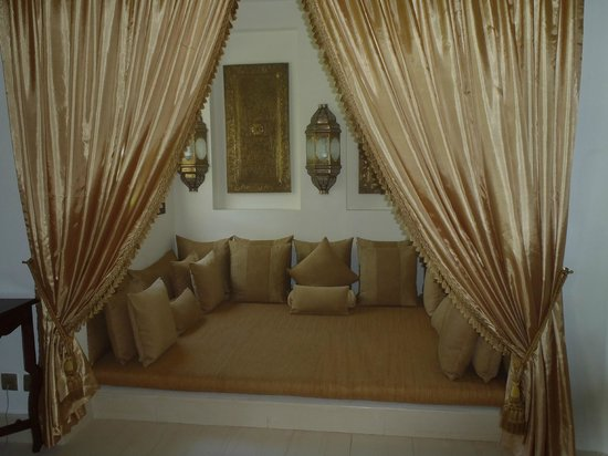 Baraza Resort & Spa: Swahili lounge in the suite