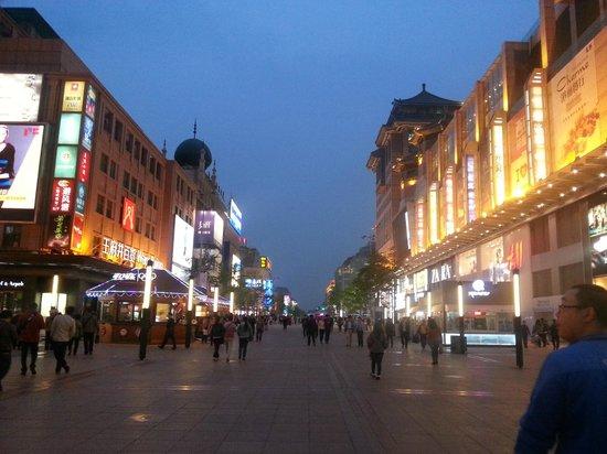 Wangfujing Street : lokasi walking street