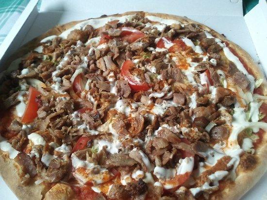 Pizza Extra pizza kebab