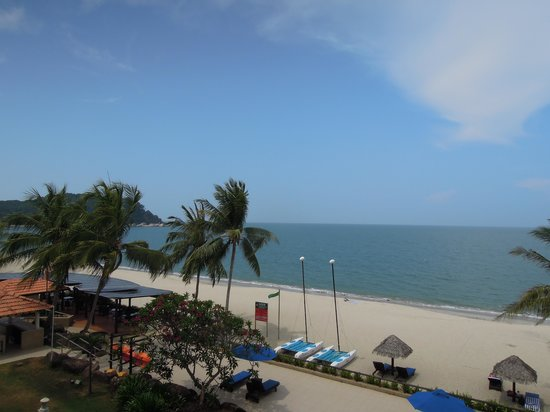 Hyatt Regency Kuantan : Sea View from Room