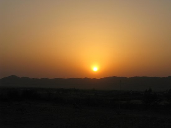 Pushkar Camel Safari - Day Tours: Puesta de sol