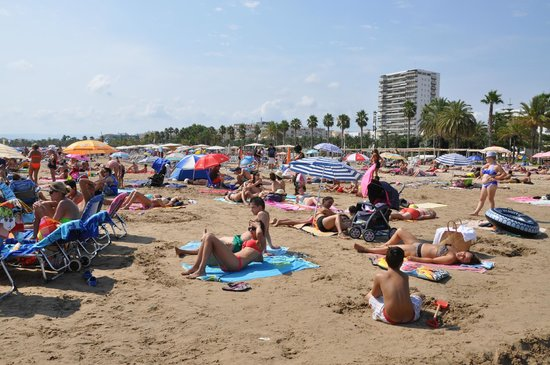 Playa Los Capellanes: Пляж капелланов