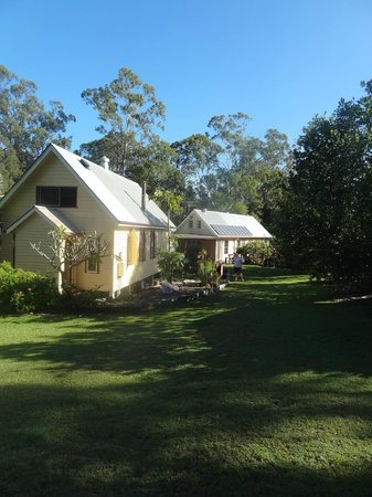 Glass House Mountains Ecolodge: Charming Church accommodation