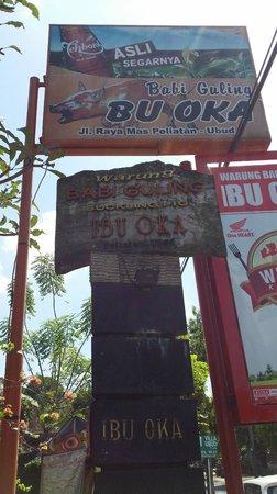 Warung Babi Guling Ibu Oka 3: The entrance of Ibu Oka