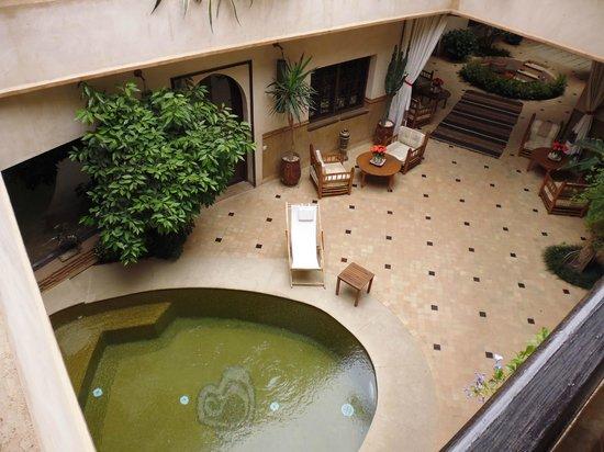 Les Sources Berberes Riad & Spa: Espace piscine