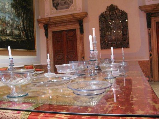 Palazzo Mocenigo: murano creations