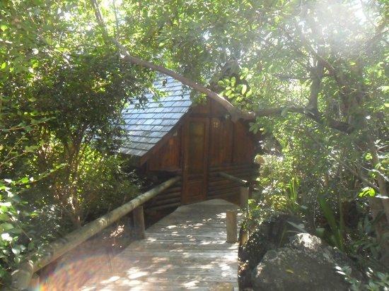 Lodge Roche Tamarin - Village nature : entré de notre chambre 11