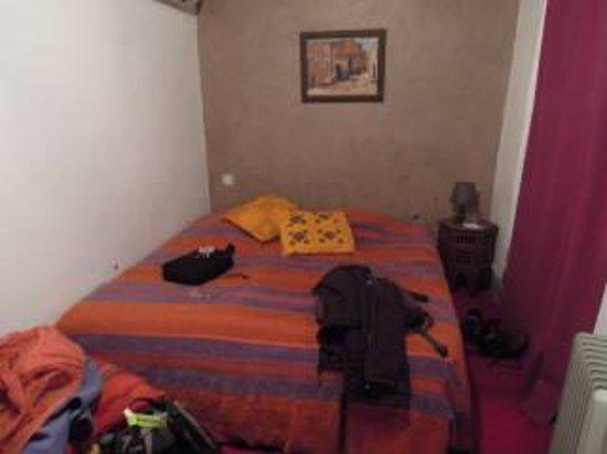 Dar Marhaba: het bed