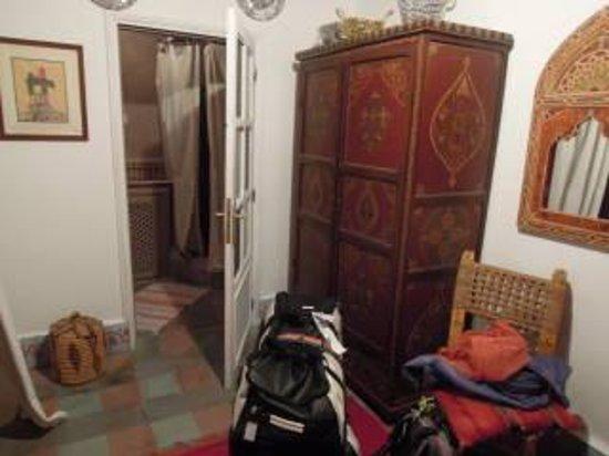 Dar Marhaba: de kamer