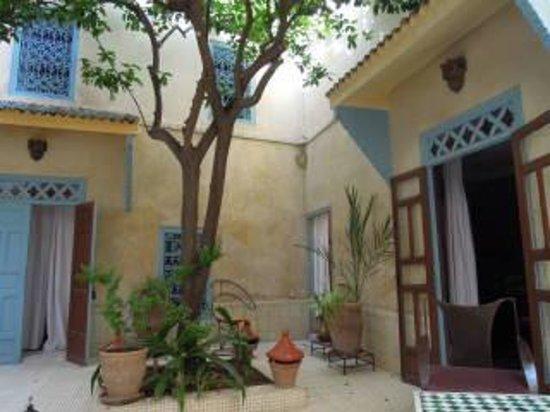 Dar Marhaba: prachtige binnenplaats