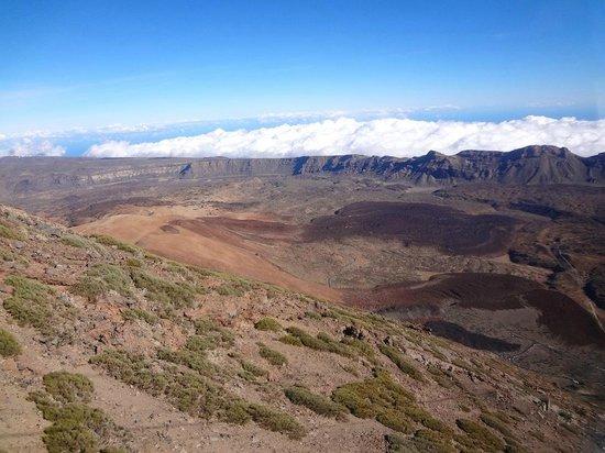 Volcan El Teide : Кальдера вулкана