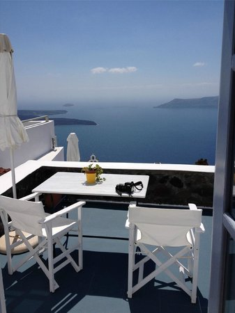 Heliades Apartments : Balcony to the sea