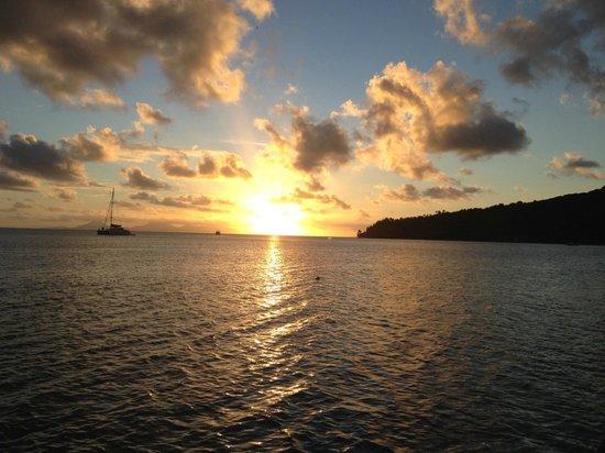 Relais Mahana : Sunset