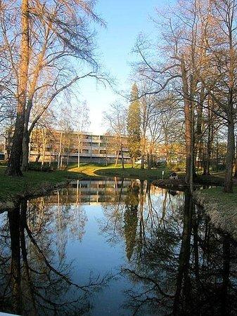 Finlandia Hotel Degerby: Парк рядом с отелем
