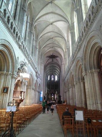 Cathédrale Notre-Dame de Bayeux : inside view