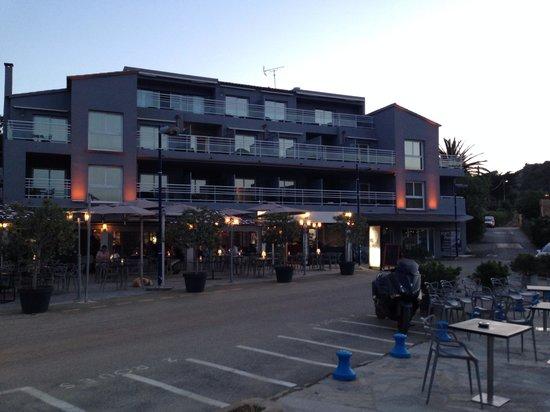 Hotel le Golfe : vue du soir