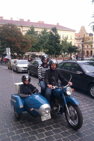 Sidecar Tours by Motor City Tour