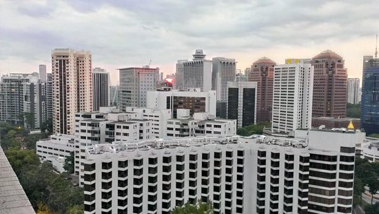 Far East Plaza Residences by Far East Hospitality: Another angle from balcony