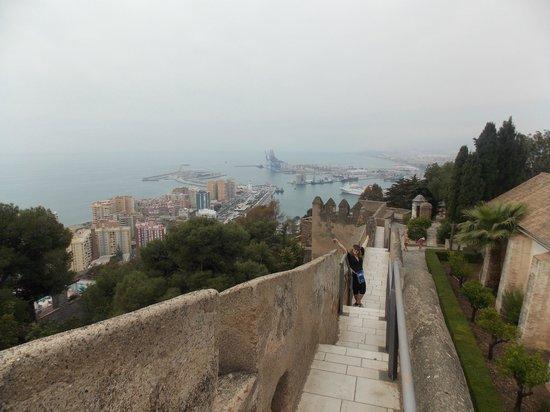 Castillo de Gibralfaro : Vista dalle mura