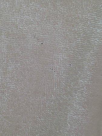 Zoetry Paraiso de La Bonita: Полотенце с пятнами краски или туши для ресниц.