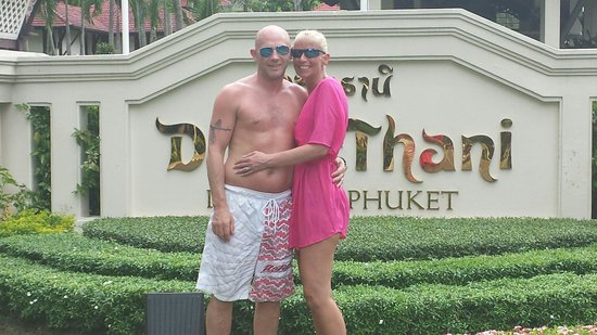 Dusit Thani Laguna Phuket: Vinnie and ellens honeymoon