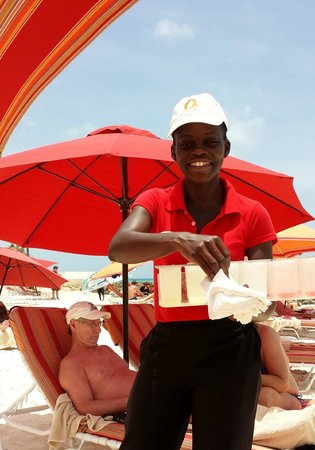 Ocean Two Resort & Residences: Complimentary ice lolly :)