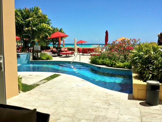 Ocean Two Resort & Residences: View from reception