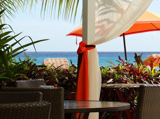 Ocean Two Resort & Residences: View from the breakfast area