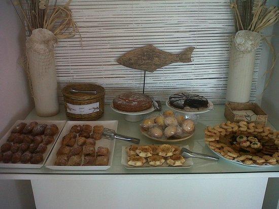 Acquamarina Hotel: Sicilian breakfast