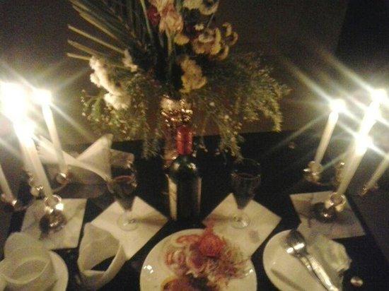 Hotel Sonar Bangla - Mandarmoni: Candlelight dinner arrangement