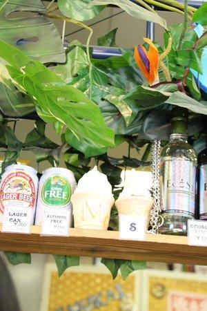 Odaiba Kaihin Koen (Odaiba Seaside Park) : choice of your drink~