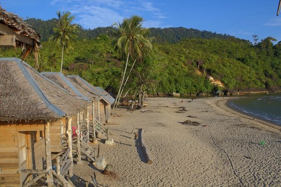 Ricky's Beach House - Authentic Sumatra: View of the rooms