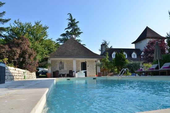 Domaine de la Greze : pool