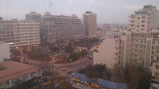 Pullman Dakar Teranga : vue coté ville