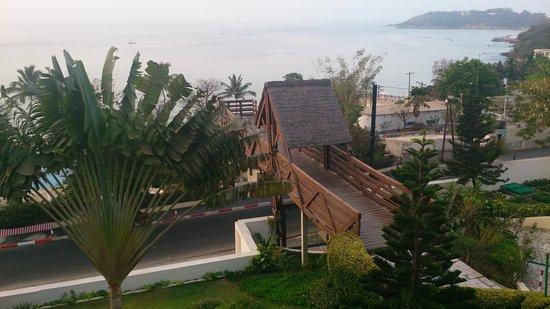 Pullman Dakar Teranga : vue de la terrasse