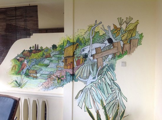 Bali Paradise Hotel Boutique Resort: Great art work