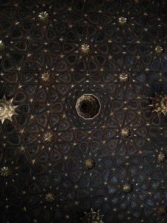 La Casa de Pilatos-interno il cielo stellato